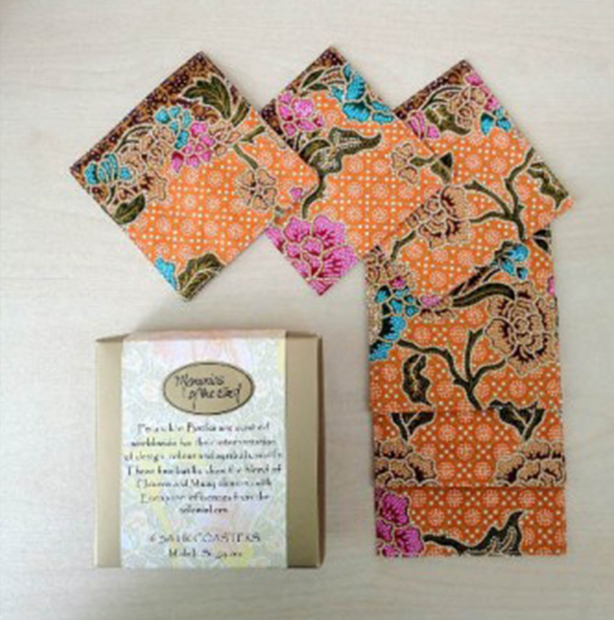 Peranakkan Coaster Set of 6