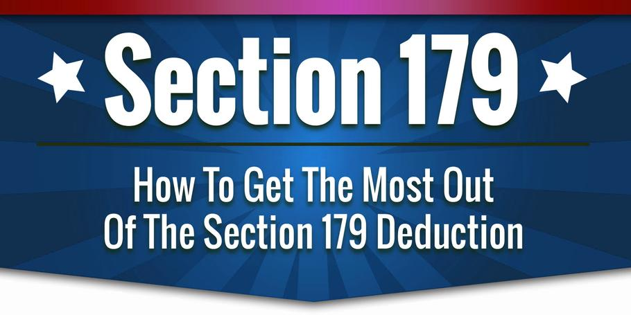 Start 2021 On a Different Foot - Take Advantage of Section 179 Tax Benefits