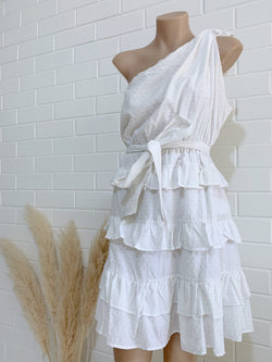 Klemm Dress White