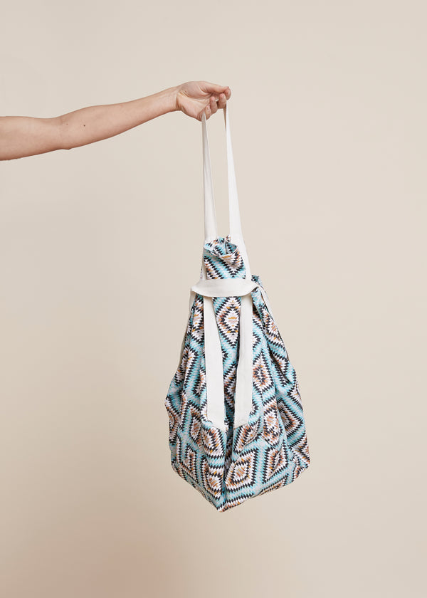 Yoga Beach Bag - Aztec Print