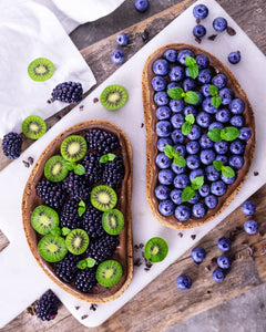 Berries on toast 😍