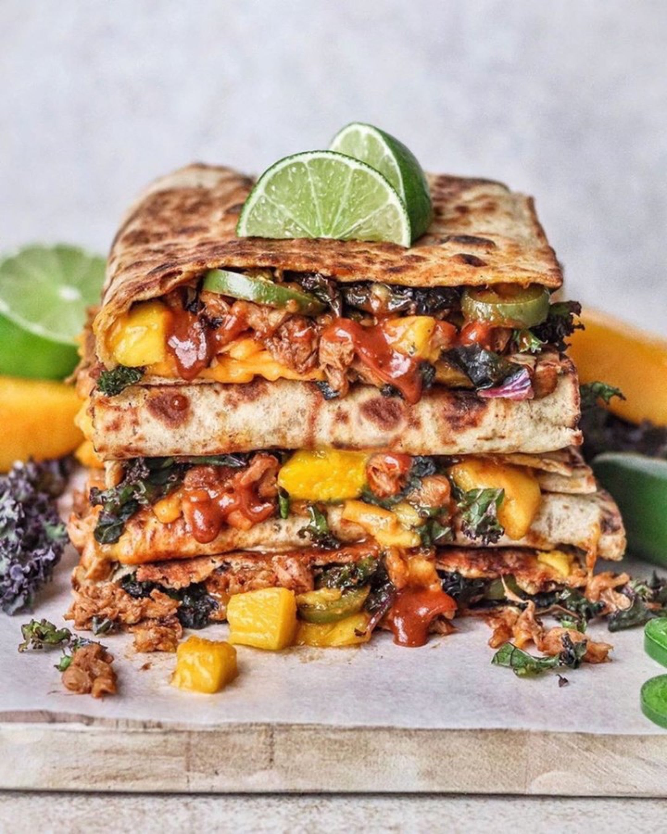Flatbread melts by plantbased.traveler {IG}