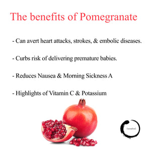 The benefits of pomegranate ❤️