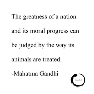 The greatness of a nation...