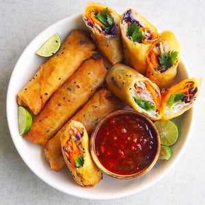 Deep Fried Spring Rolls!