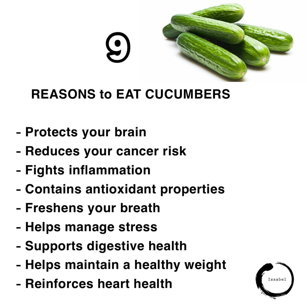 ‪9 Reasons to Eat Cucumbers 🥒‬ ‪