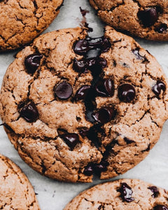 Gluten Free Gooey Chocolate Chip Cookies – Home Delivery Edition