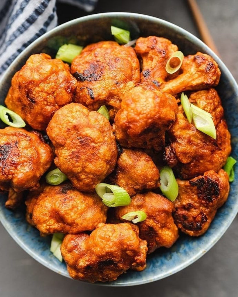 Cauliflower 'Hot Wings' (Vegan, GF Option)