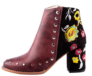 Story - Flower Design Bootie