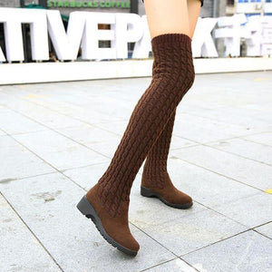 How to style a knee high boot?