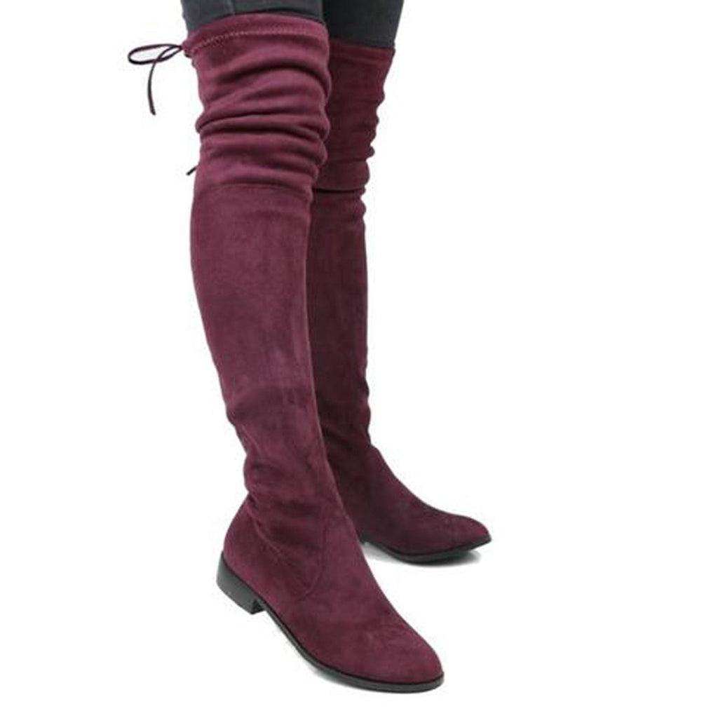 How to wear an over the knee boot?
