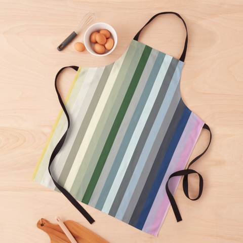 Candy Shop - Colourful Stripes Apron