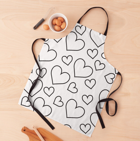 Clear Heart Apron