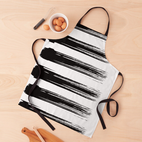 Brush Strokes Apron