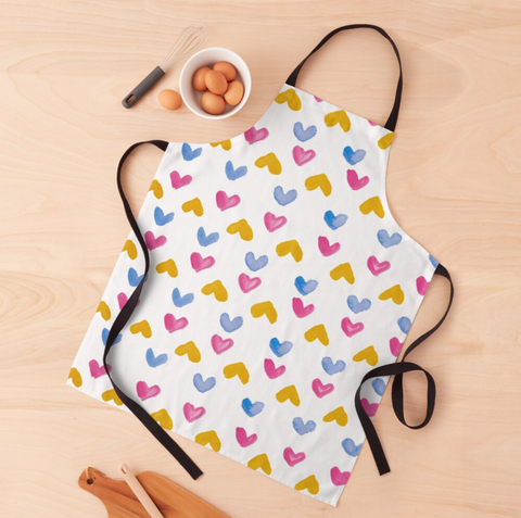 Them Hearts Apron