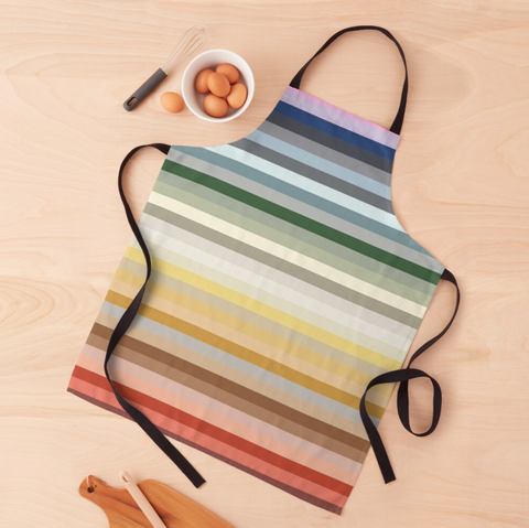 Candy Lane - Rainbow Stripes Apron