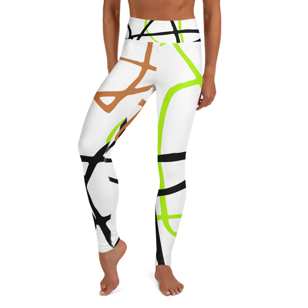 Micasso - Fluorescent Print Leggings