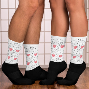 Cross My Heart Couple Socks