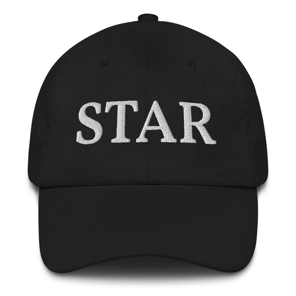 STAR - Blue Statement Quote Baseball Cap