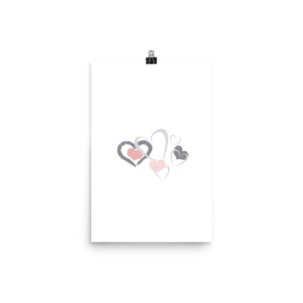 Hearts And Hearts And Hearts - Poster - Izzabel