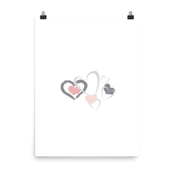 Hearts And Hearts And Hearts - Poster