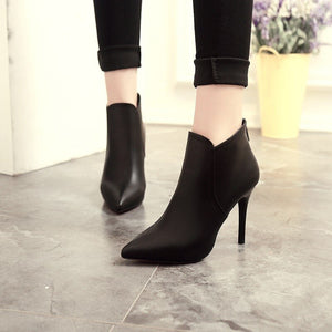 Alice - Pointed Ankle Bootie