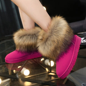 Hannah - Plush Cozy Boot - Izzabel