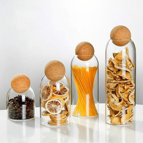 The Glass & Cork Jar - Izzabel