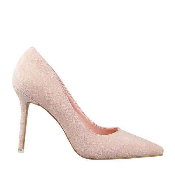 Mist Faux Suede Basic Pump