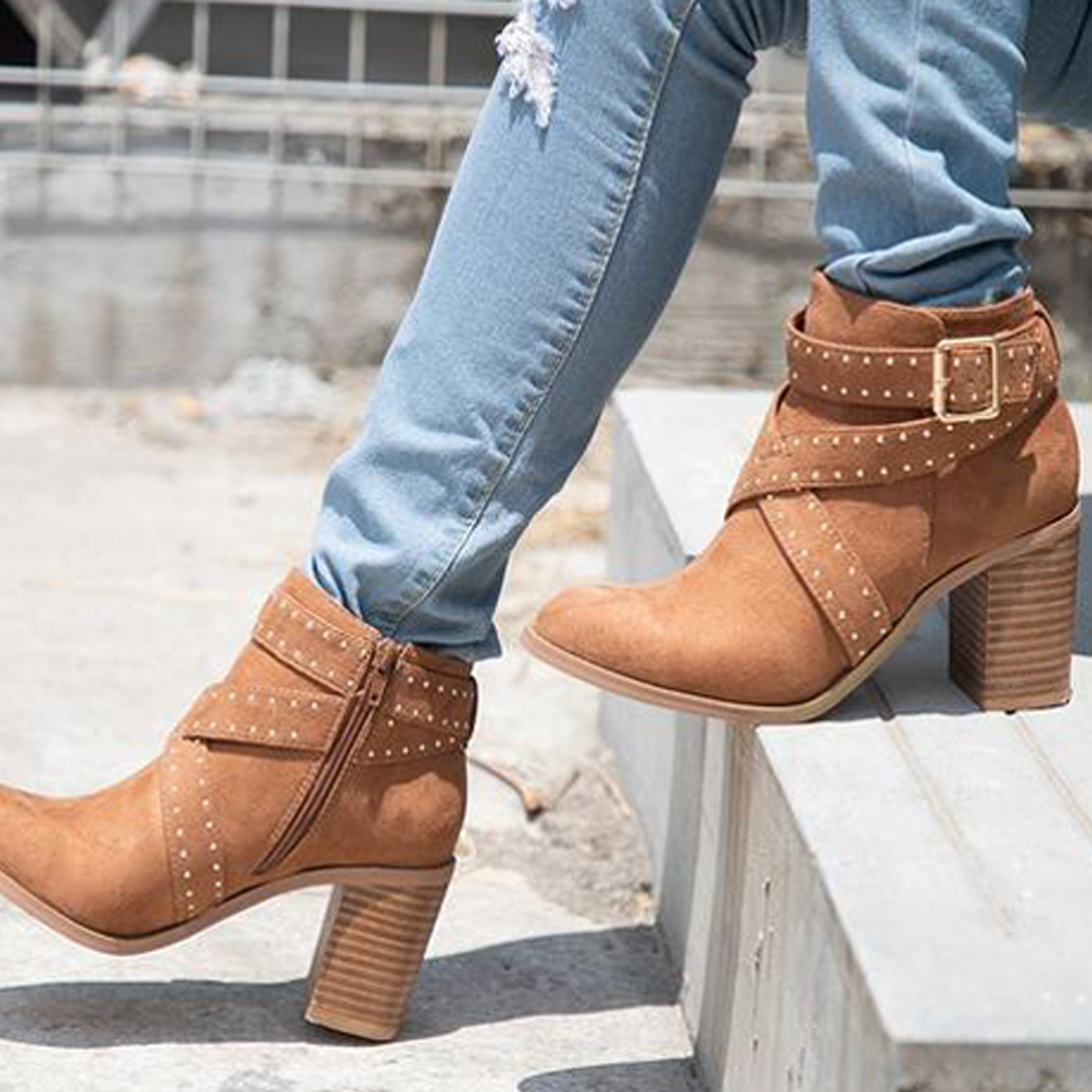 Oracle - Wrap Around Strap Bootie