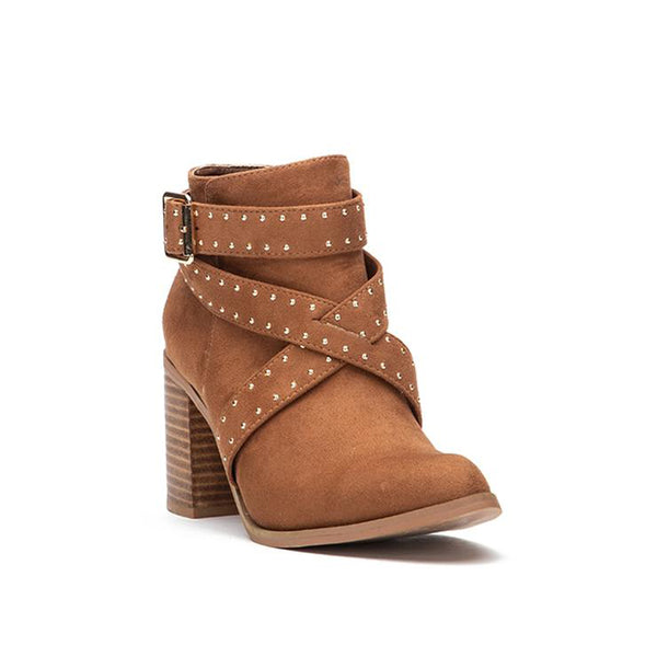 Oracle Strappy Ankle Bootie
