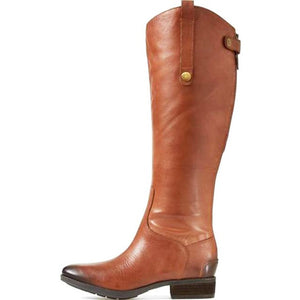 Faux Leather Riding Boot Vegan Izzabel