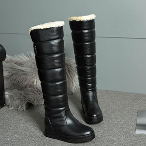 Esmeralda - Knee High Waterproof Boot - Izzabel