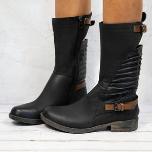 Veronique - Combat Boot - Izzabel