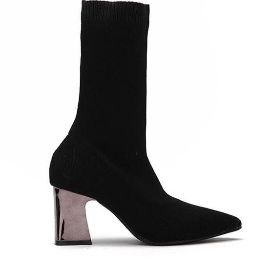 Anastasia | Vegan Slip On Ankle Boots