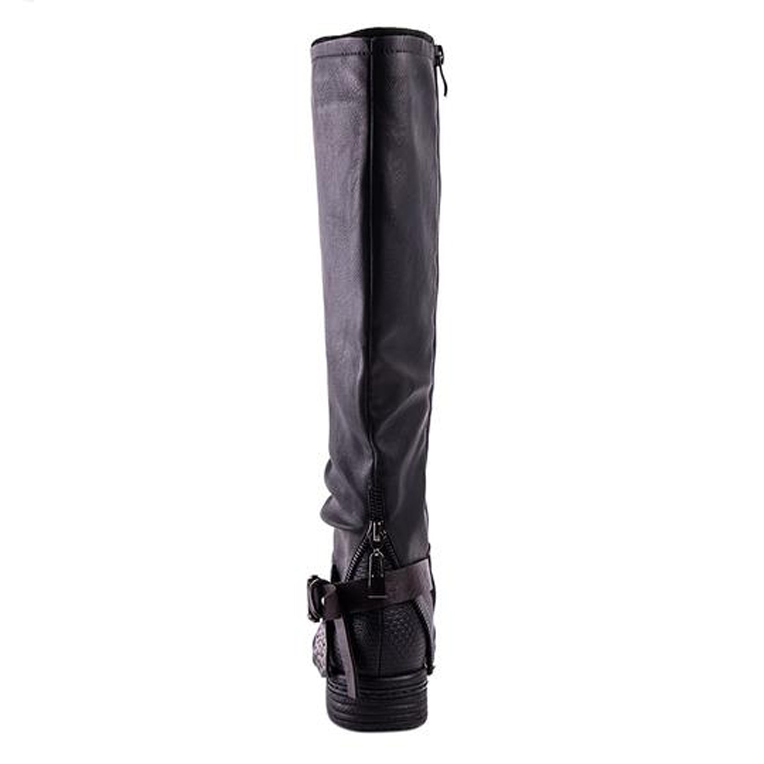 Minky - Knee High Buckled Boot - Izzabel