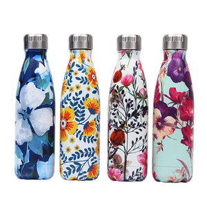 Bouteilles Isothermes Inox Floral 2020