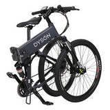 All new 26-inch folding electric bike