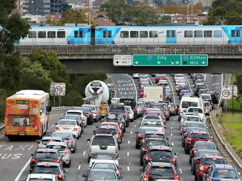 Melbourne's traffic is at a standstill now - imagine in 20 years time