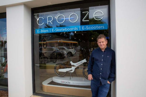 James Patten outside Crooze