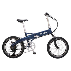 "Adventure folding 20"" ebike in blue by Dyson Bikes $1899"