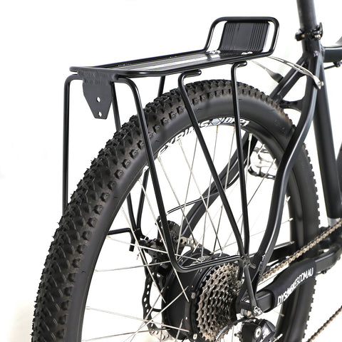 Azur alloy touring carrier rack - disc brake compatible