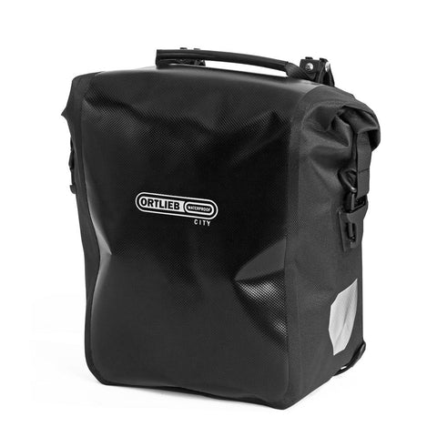 Ortlieb Sport-Roller City - Black bicycle pannier bag