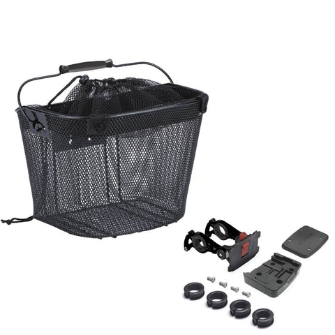 Quick Release Shopper e-Bike Mesh Basket