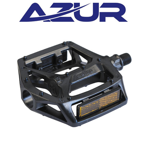 "Azur Pedal - Rail 9/16"" - Black"