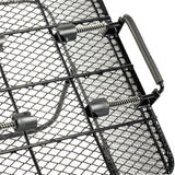 Wire top mount quick release bicycle basket