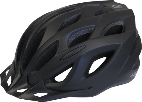 Azur Helmet L61 Satin Black 55-59cm Medium/Large