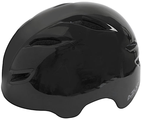 Azur U91 Bike Helmet Gloss Black -  Large/XL
