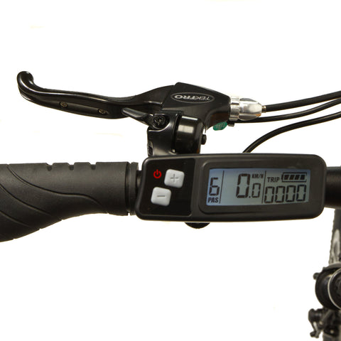 Slim line LCD Display suit Hard Tail Evo, Mixte and Folding Electric Bikes