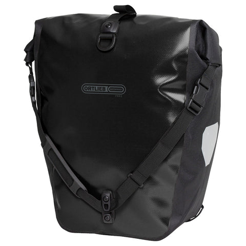 Ortlieb Back-Roller PVC Free bicycle pannier - Black